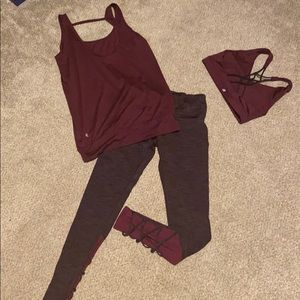 Athleisure/athletic outfit